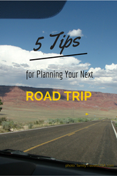5 Tips for Planning Your Next Road Trip